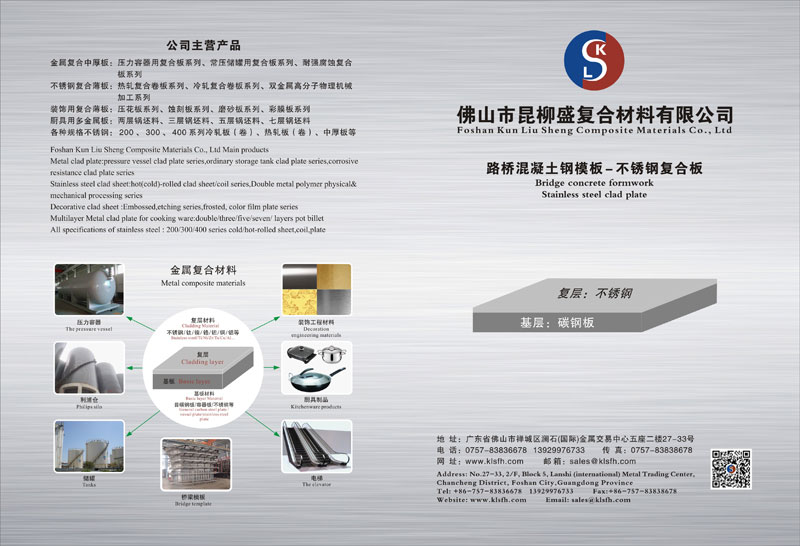 Stainless Steel Composite Plate Manufacturer