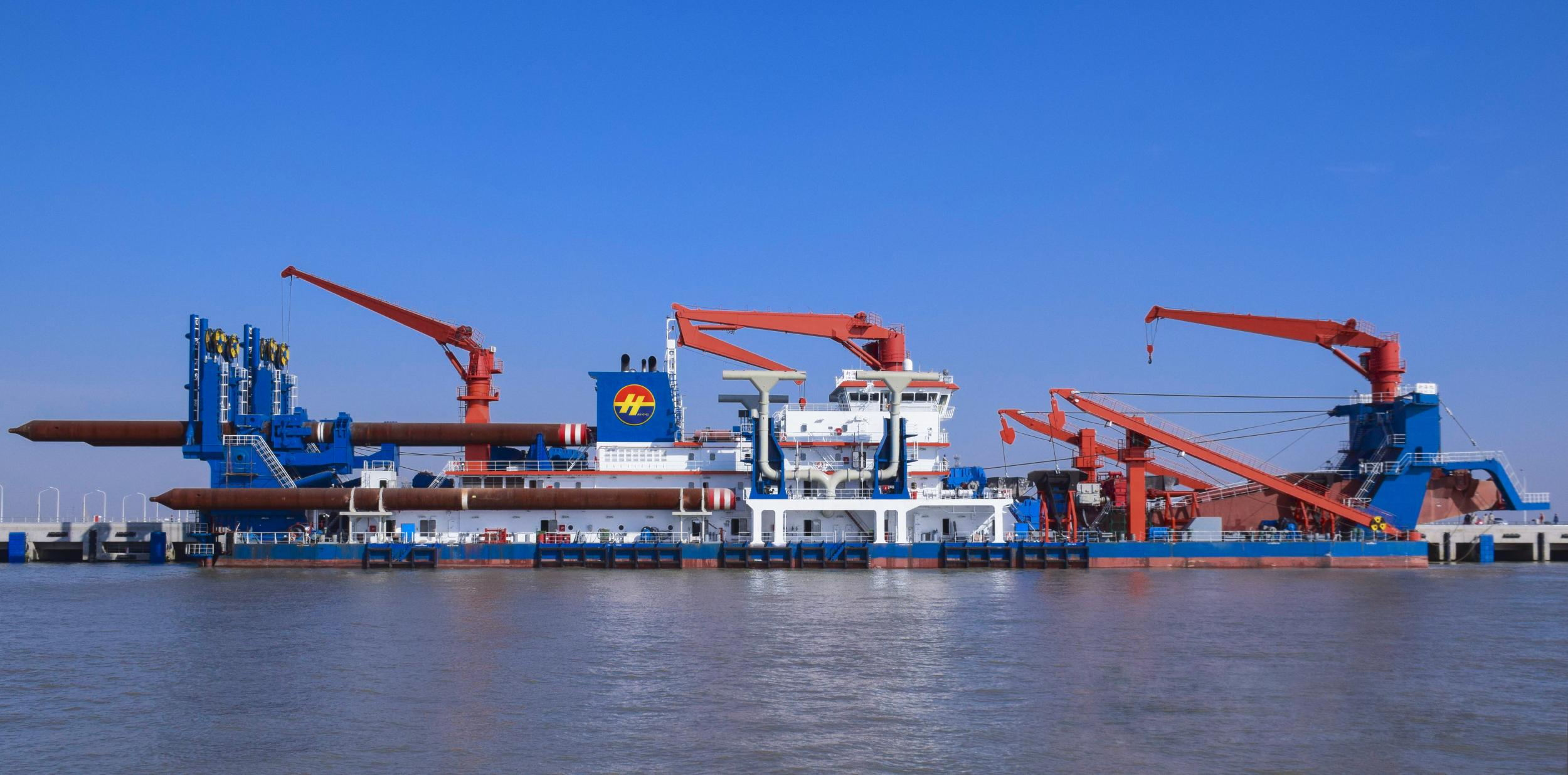 New Haixu, China's Largest Cutter Suction Dredger In The World, Set Sail