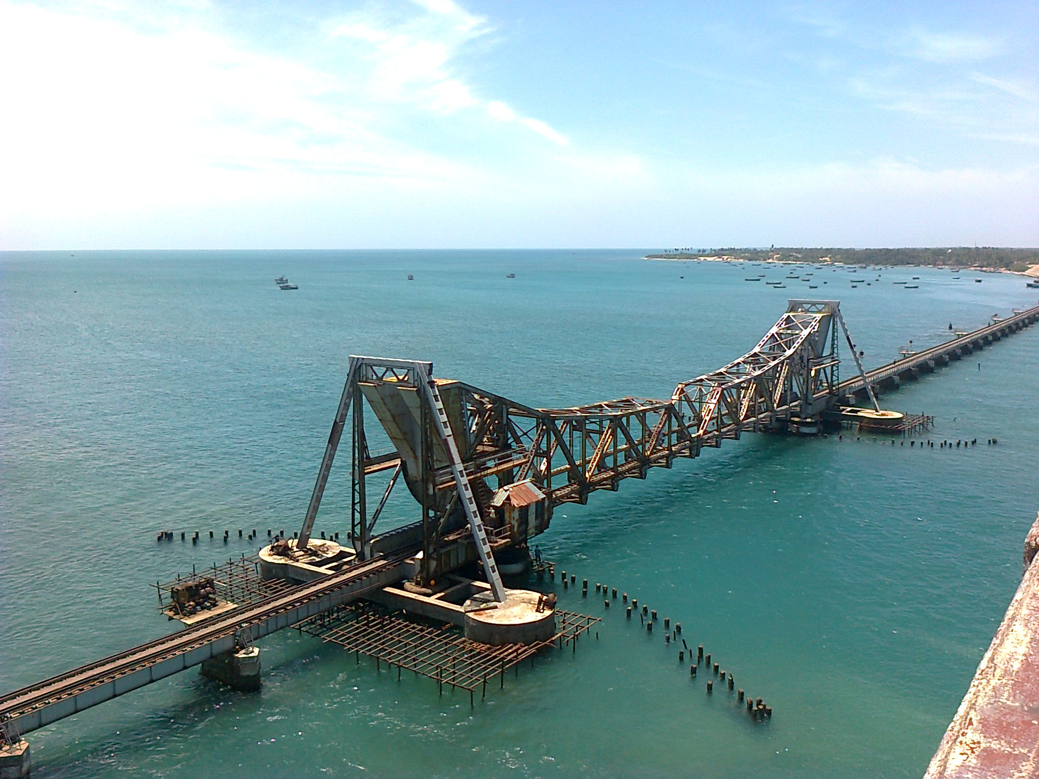 India's Pamban Railway Bridge