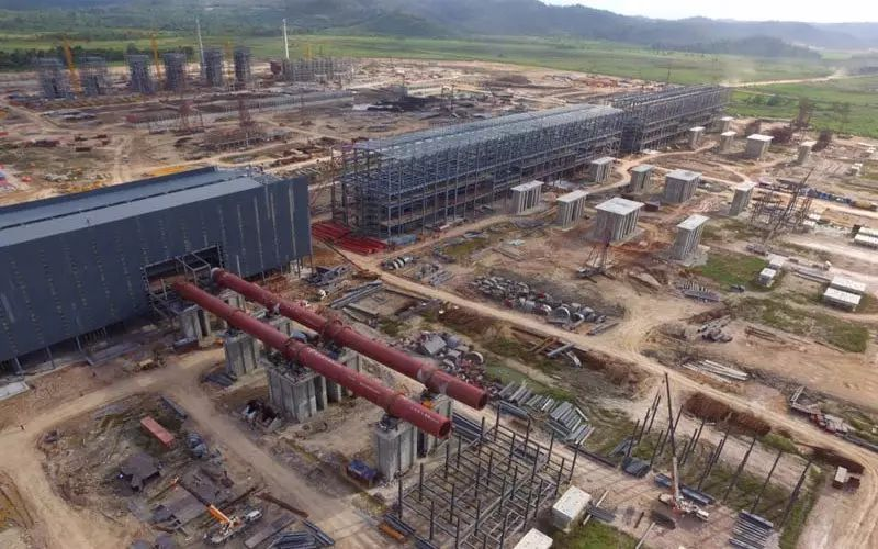 Indonesia's Delong Stainless Steel Project is expected to go into operation in 2019