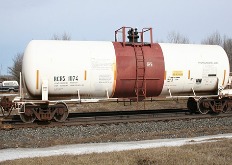 Locomotive Tank Car