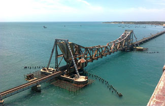 India's Pamban Railway Bridge Will Become India's First Railway Bridge With Stainless Steel Structure