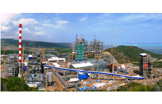 Indonesia's newly opened Pt ATS nickel smelter has an annual output of 144000 tons